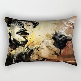 Halk Mask Rectangular Pillow