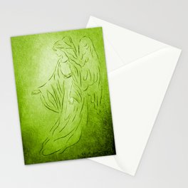 Angel of Healing - Abstract Angel Picture Stationery Cards