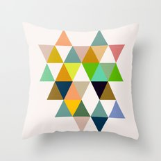 Abstract #742 Throw Pillow