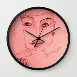 Emerald Brooch Wall Clock