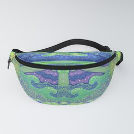 Dream of the fullmoon (mirrored version) Fanny Pack