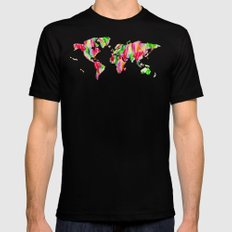 Tulip World #119 Mens Fitted Tee MEDIUM Black