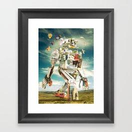 Planned Evolution 2010 Framed Art Print