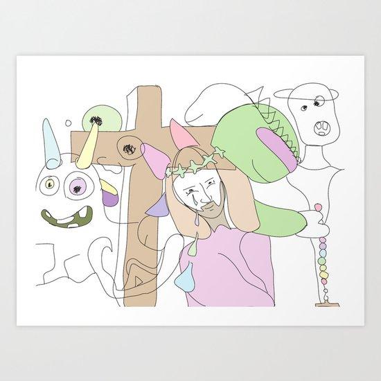 Funland 3 Art Print