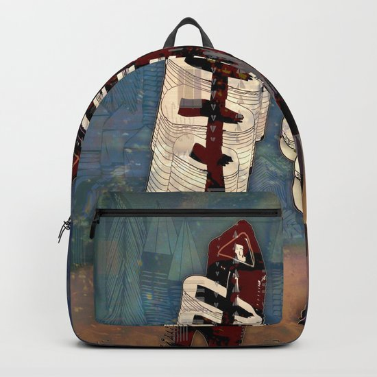 Atlante 18·5·16 / Fish Spines Backpack