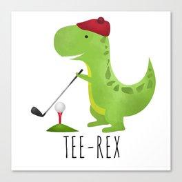 Tee-Rex Canvas Print