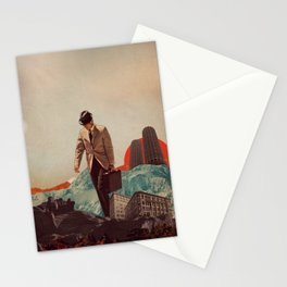 Leaving Their Cities Behind Stationery Cards