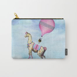 Flying Llama Carry-All Pouch
