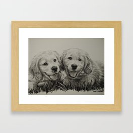 Buddies Framed Art Print