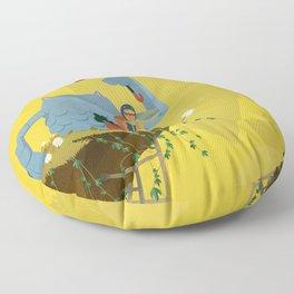 Matilda and Bouru - Melancholy Floor Pillow