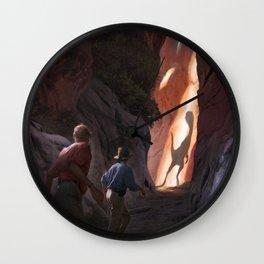 Exploring Utah Wall Clock