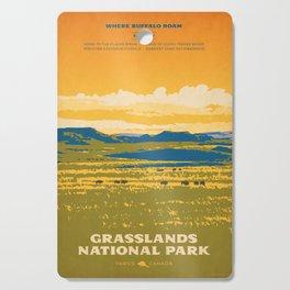 Grasslands National Park Poster Cutting Board