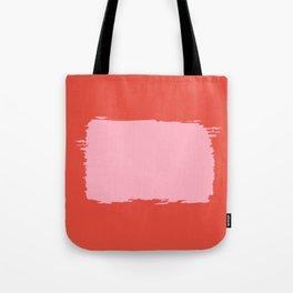 Crimson Swatch Tote Bag