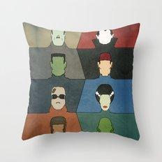 A Universal Horror Throw Pillow