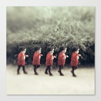 army Canvas Prints featuring Baby army by josemanuelerre