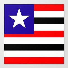 flag of maranhao Canvas Print
