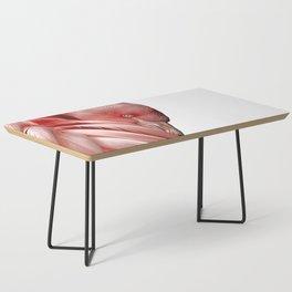 Flamingo Illustration Coffee Table