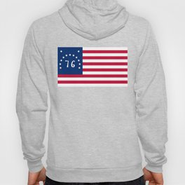 American Bennington flag - Authentic scale and color Hoody