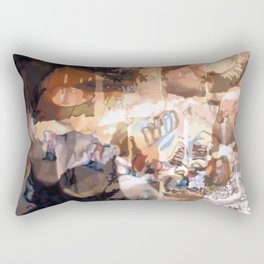 Hindered by Traces of Mistaken Perfection Rectangular Pillow