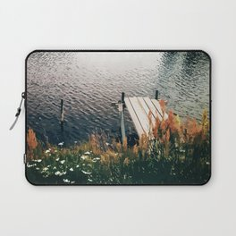 Flower Lake Laptop Sleeve