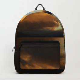 Sunset in Scotland Backpack