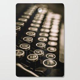 Vintage Typewriter Cutting Board