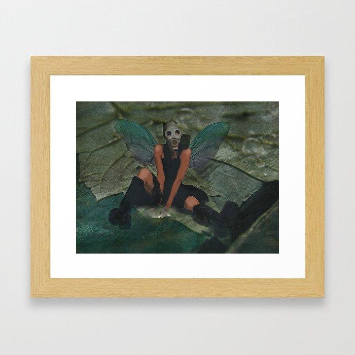 Urban Fairy Framed Art Print
