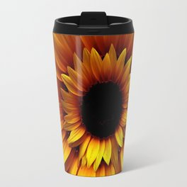 ANTIQUE GILDED ART DECO SUNFLOWERS Travel Mug