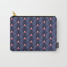 Pattern flower peacock Carry-All Pouch
