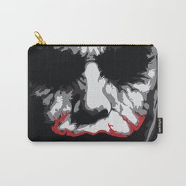 Heath Ledger - The Joker Abstract Movie Poster Design Carry-All Pouch