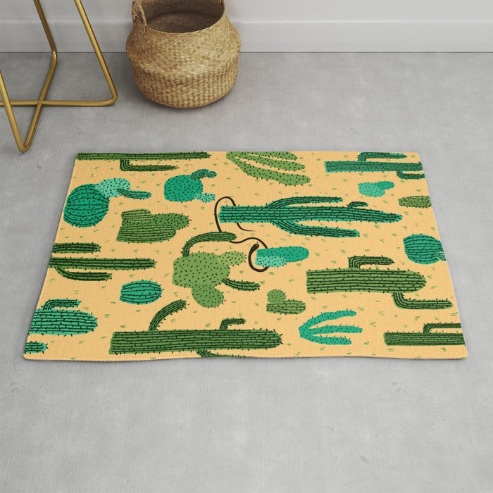 The Snake, The Cactus and The Desert Rug