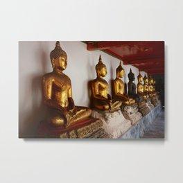Golden Buddah Metal Print
