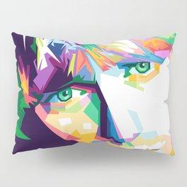 Cobain In Pop Art Pillow Sham