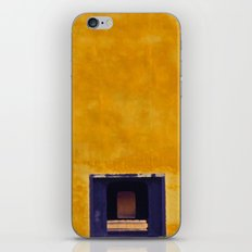 Emperor's yellow house iPhone & iPod Skin