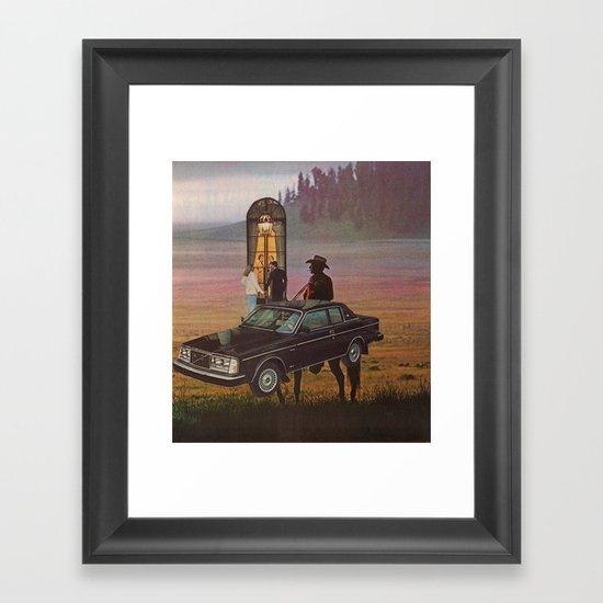 rugged individualism #3 Framed Art Print