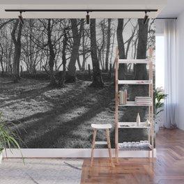 Railway Trees Wall Mural