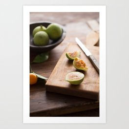 Fresh Figs Art Print