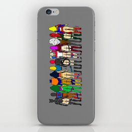 Superhero Butts - Girls - Row Version - Superheroine iPhone Skin