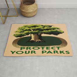 Protect Your Parks Rug