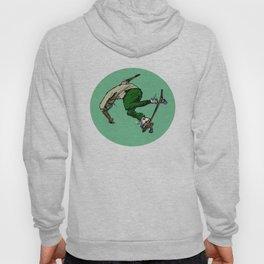 Lean Green Skateboarding Machine Hoody