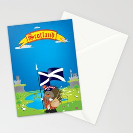 Greetings from Scotland Stationery Cards