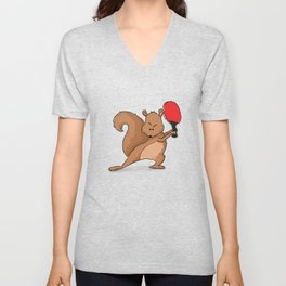 Talented Squirrel Unisex V-Neck
