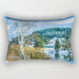 Winter came Rectangular Pillow