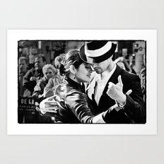 Tango3 Art Print