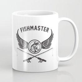 Fishmaster Fishing Badge Coffee Mug