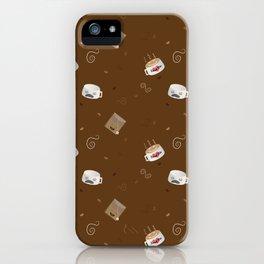Caffeine is My World iPhone Case