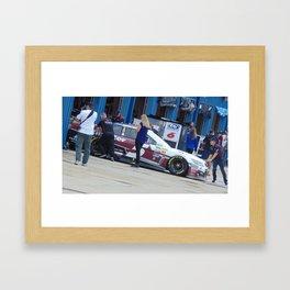 Hey Beautiful...Your Blocking the Car!!!! Framed Art Print