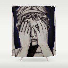 Peekaboo Shower Curtain