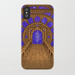 orvio illuminated space mandala iPhone Case
