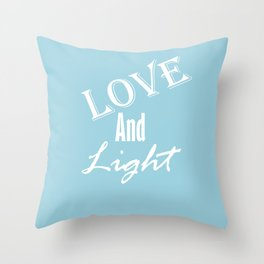 Love and Light Throw Pillow